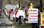 A number of interesting signs and t-shirts were seen at the Tea Party rally on Friday, April 15, 2011, at the Legislature in Carson City, Nev. .Photo by Cathleen Allison