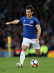 Everton's Leighton Baines in action during the Europa League Qualifying Play Offs 1st Leg match at Goodison Park Stadium, Liverpool. Picture date: August 17th 2017. Picture credit should read: David Klein/Sportimage
