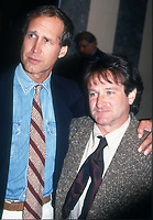 Chevy Chase Robin Williams 1991<br /> Photo By John Barrett/PHOTOlink.net /MediaPunch