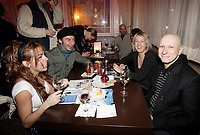 Montreal (Qc) CANADA - February 12, 2008 - <br /> Anne Casabonne, actress (L), Paul Amharani (R) <br /> at the Rendez Vous du Cinema Quebecois,<br /> wine and cheese cocktail held at Place d'armes Hotel - Suite 711.<br /> photo : Pierre Roussel (c)  Images Distribution