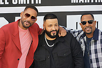 MIAMI, FL - JANUARY 12: Will Smith, Dj Khaled and Martin Lawrence at the Bad Boys For Life Miami Premiere at the Regal South Beach Theater in Miami, Florida on January 12, 2020. <br /> CAP/MPI140<br /> ©MPI140/Capital Pictures