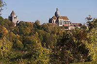 Europe/France/Ile-de-France/77/Seine-et-Marne/Provins: la Collégiale Saint Quiriace et la Tour César