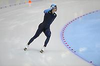 SCHAATSEN: HEERENVEEN: Thialf, World Cup, 03-12-11, 500m A, Tucker Fredricks USA, ©foto: Martin de Jong