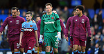West Ham United goalkeeper David Martin makes his first team debut at the Premier League match at Stamford Bridge, London. Picture date: 30th November 2019. Picture credit should read: Robin Parker/Sportimage