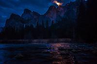 Full Moon Over Yosemite