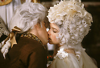 Amadeus (1984) <br /> Tom Hulce &amp; Elizabeth Berridge<br /> *Filmstill - Editorial Use Only*<br /> CAP/KFS<br /> Image supplied by Capital Pictures