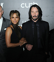 "Halle Berry and Keanu Reeves at the World Premiere of ""John Wick: Chapter 3 Parabellum"", held at One Hanson in Brooklyn, New York, USA, 09 May 2019<br /> CAP/ADM/LJ<br /> ©LJ/ADM/Capital Pictures"