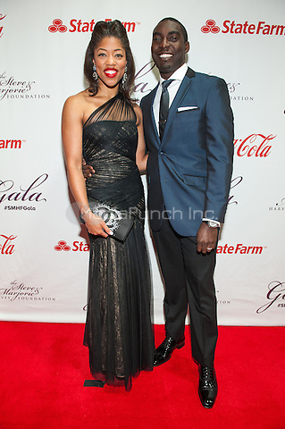 CHICAGO, IL - MAY 3: Morgan and Kareem Hawthorne attend the Steve and Marjorie Harvey Foundation Gala at Hilton Chicago in Chicago, Illinois on May 3, 2014. Photo Credit: RTNHerman/MediaPunch