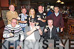 """CHEERS: Plenty of the regulars at Hennessy's Bar, who toasted to """"ARTHUR'S Day"""" on time 17.59 on Thursday evening in Hennessy......."""