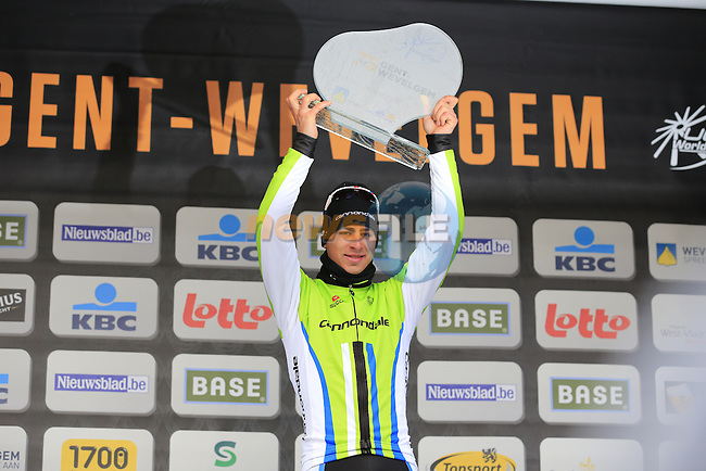 Peter Sagan (SVK) Cannondale Pro Cycling wins at the end of the 75th edition of Gent-Wevelgem, Belgium, 24th  March 2013 (Photo by Eoin Clarke 2013)