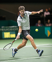 ABN AMRO World Tennis Tournament, Rotterdam, The Netherlands, 16 Februari, 2017, Robin Haase (NED)<br /> Photo: Henk Koster