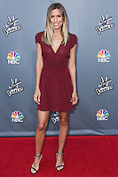 "UNIVERSAL CITY, CA, USA - APRIL 15: Renee Bargh at NBC's ""The Voice"" Season 6 Top 12 Red Carpet Event held at Universal CityWalk on April 15, 2014 in Universal City, California, United States. (Photo by Xavier Collin/Celebrity Monitor)"