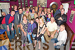 Michael O'Grady, Gurrane East, Killorglin, pictured with his parents Francis and John, girlfriend Catriona Clifford, family and friends as he celebrated his 21st birthday in The Fishery, Killorglin on Saturday night.