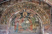 Holy Monastery of Great Lavra,Megiste Lavra,dedicated to Saint Athanasios Athonite,St. John Baptist chapel,Athos Peninsula,Mount Athos,Chalkidiki,Greece