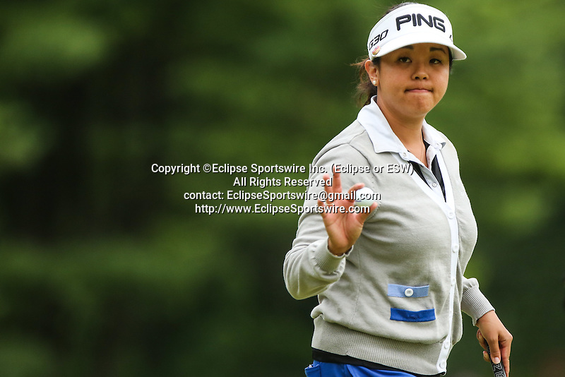 at the LPGA Championship 2014 Sponsored By Wegmans at Monroe Golf Club in Pittsford, New York on August 16, 2014