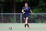CARY, NC - JUNE 22: Debinha. The North Carolina Courage held a training session on June 22, 2017, at WakeMed Soccer Park Field 7 in Cary, NC.