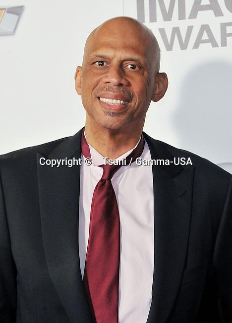 Karem Abdul Jabar  at the 44th Ann. NAACP Awards 2013 at the Shrine Auditorium in Los Angeles.