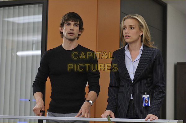 CHRISTOPHER GORHAM & PIPER PERABO.in Covert Affairs (Season 1).*Filmstill - Editorial Use Only*.CAP/FB.Supplied by Capital Pictures.