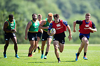 Josh Bayliss of Bath Rugby. Bath Rugby pre-season training on July 2, 2018 at Farleigh House in Bath, England. Photo by: Patrick Khachfe / Onside Images