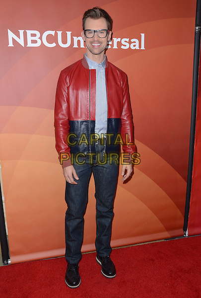 14 January  - Pasadena, Ca - Brad Goreski. NBC Universal Press Tour Day 2 held at The Langham Huntington Hotel.  <br /> CAP/ADM/BT<br /> &copy;BT/ADM/Capital Pictures