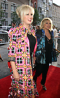 NEW YORK, NY-July 18:  Joanna Lumley, Jennifer Saunders at Fox Searchlight Pictures presents premiere of Absolutely Fabulous: The Movie  to talk about  Star Trek Beyond in New York. NY July 18, 2016. Credit:RW/MediaPunch