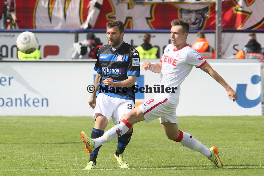 Edmond Kapllani (FSV) - FSV Frankfurt vs. 1. FC Koeln, Frankfurter Volksbank Stadion