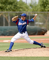 Corey Young / Texas Rangers 2008 Instructional League..Photo by:  Bill Mitchell/Four Seam Images