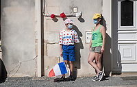 roadside<br /> <br /> Stage 11 from Châtelaillon-Plage to Poitiers (168km)<br /> <br /> 107th Tour de France 2020 (2.UWT)<br /> (the 'postponed edition' held in september)<br /> <br /> ©kramon