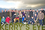 "KINGDOM CUP: Maurice Reidy trainer of winning dog ""DResen Call"" of the Kingdom Cup at Tralee Coursing at Ballybeggan Park, Tralee on Tuesday  from Ina Galvin looking on were many well wishers and owners. ....."