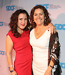 Lisa Portes and Marcela Lorca during The Third Annual SDCF Awards at The The Laurie Beechman Theater on November 12, 2019 in New York City.