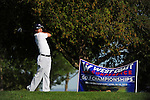 April 16, 2012; Hollister, CA, USA; Gonzaga Bulldogs golfer James Fahy during the WCC Golf Championships at San Juan Oaks Golf Club.