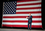 ST. AUGUSTINE, FL - OCTOBER 24:   Republican presidential candidate Donald Trump is introduced during a rally at the St. Augustine Amphitheater on October 24, 2016 in St. Augustine, Florida.  With just over two weeks to go until the election, early voting has started in Florida. (Photo by Mark Wallheiser/Getty Images)