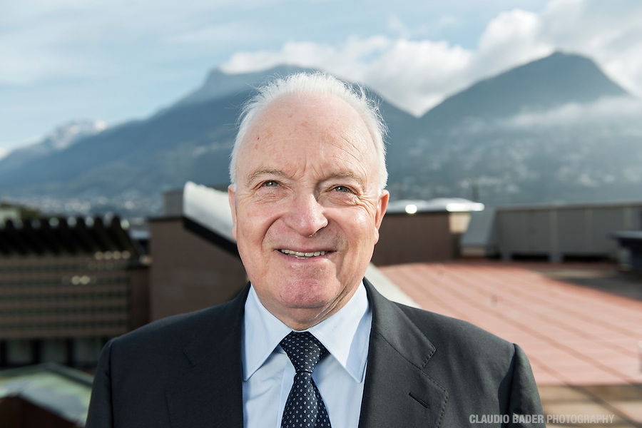 BSI SA Lugano; Direttore consiglio d'amministrazione, Director Board of Directors, Joseph Rickenbacher; BSI Sede Viale Franscini
