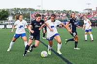 Allston, MA - Sunday July 17, 2016: Catherine Zimmerman, Mollie Pathman during a regular season National Women's Soccer League (NWSL) match between the Boston Breakers and Sky Blue FC at Jordan Field.