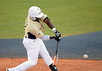 Florida International University outfielder Pablo Bermudez (12) plays against Florida Gulf Coast University. FIU won the game 10-3 on March 28, 2012 at Miami, Florida.