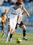 Real Madrid Castilla's Alvaro Morata during La Liga match. January 13, 2013. (ALTERPHOTOS/Alvaro Hernandez)