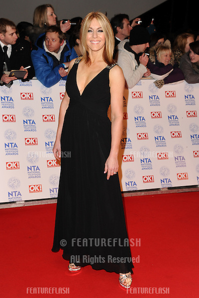 Helen Fospero arriving for the National Television Awards 2013, at the O2 Arena, London. 23/01/2013 Picture by: Steve Vas / Featureflash
