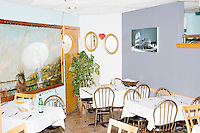 "A section of the restaurant was reserved for Harvard Law professor and Democratic presidential candidate Lawrence Lessig to speak at a meeting of the Salem Democrats at The Colosseum Restaurant in Salem, NH. This campaign event was Lessig's first visit to New Hampshire, though he had not yet raised the $1 million he wanted to raise before officially declaring his candidacy. The following week, Lessig raised the money and declared his candidacy. Lessig is running an unusual campaign, calling himself a ""referendum candidate."" He has said his campaign will focus on a single issue, The Citizen Equality Act, which would reform campaign financing, gerrymandering, and access to voting. Lessig has pledged that, if elected, once the Citizen Equality Act becomes law, he will immediately resign and turn the presidency over to his vice president."