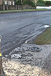 Potholes Jan 2011 Dublin Road, Yellowbatter, Cement Road