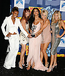 LOS ANGELES, CA. - September 07: The Pussycat Dolls pose in the press room at the 2008 MTV Video Music Awards at Paramount Pictures Studios on September 7, 2008 in Los Angeles, California.