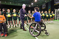 Rotterdam, The Netherlands, 14 Februari 2019, ABNAMRO World Tennis Tournament, Ahoy, Wheelchair, Final, Stephane Houdet (FRA) winner,<br /> Photo: www.tennisimages.com/Henk Koster