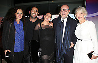 WEST HOLLYWOOD, CA - JANUARY 9- Aline Shomof, Dov Mamann, Paolo Virz, Helen Mirren, at Premiere Of Sony Pictures Classics' 'The Leisure Seeker' at the Pacific Design Center in West Hollywood, California on January 9, 2018. <br /> CAP/MPI/FS<br /> &copy;FS/MPI/Capital Pictures