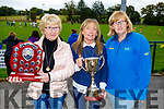 Carmel Mansfield, Anna Mason and Trish Horan at the Eric Mason Memorial Tournament held in Ballymac GAA club on Saturday
