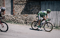 Marcel Kittel (DEU/QuickStep Floors) is far behind the main bunch and won't grab any points today<br /> <br /> 104th Tour de France 2017<br /> Stage 16 - Le Puy-en-Velay &rsaquo; Romans-sur-Is&egrave;re (165km)