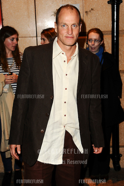 """Woody Harrelson arriving for the premiere of """"Rampart"""", as part of the London Film Festival 2011, at the Vue West End, London. 15/10/2011 Picture by: Steve Vas / Featureflash"""