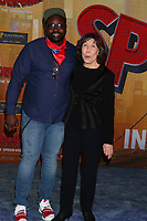 "LOS ANGELES - DEC 1:  Brian Tyree Henry, Lily Tomlin at the ""Spider-Man:  Into the Spider-Verse"" Premiere at the Village Theater on December 1, 2018 in Westwood, CA"