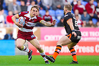 Picture by Alex Whitehead/SWpix.com - 20/04/2018 - Rugby League - Betfred Super League - Wigan Warriors v Castleford Tigers - DW Stadium, Wigan, England - Wigan's Sam Powell in action.