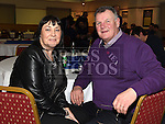 Colm and Sandra Finlay at St Mary's GAA Club awards night in their clubrooms. Photo:Colin Bell/pressphotos.ie