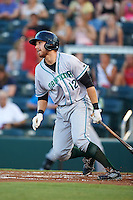 Daytona Tortugas third baseman Taylor Sparks (12) at bat during a game against the Fort Myers Miracle on June 17, 2015 at Hammond Stadium in Fort Myers, Florida.  Fort Myers defeated Daytona 9-5.  (Mike Janes/Four Seam Images)