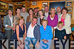 Paddy Kerrisk, Countess Road, Killarney, pictured with Mairead, Bridie and John Kerrisk, Mary Kerrisk, Annette O'Connor, Tadhg Kelly, Maureen Kelly, Noel Kerrisk, Anna Kerrisk, Ambrose O'Donovan, Don Murphy and Irene Murphy Kerrisk, as he celebrated his 50th birthday in Murphys Bar, Killarney on Friday night..........